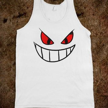 Gengar Face tank top tee t shirt