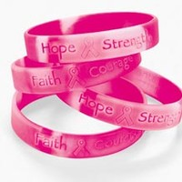 Midwest Volleyball Warehouse - Breast Cancer Bracelet-SINGLE