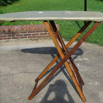 Vintage Wooden Ironing Board...Primitive