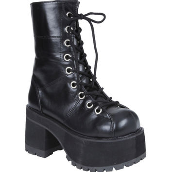 Demonia By Pleaser Ranger Combat Boot