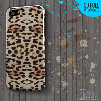 Leopard Skin Glossy Design Colors for iPhone 6, Plus, 5, 5s, 4, 4s, case cover, Samsung Galaxy S case, S4, S5, Galaxy Mini Case 3d full wrap