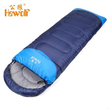 Adult Thickened Rectangular Couples Camping Indoor Siesta Spring And Winter Light Checked Cloth Sleeping Bag Hot Sales