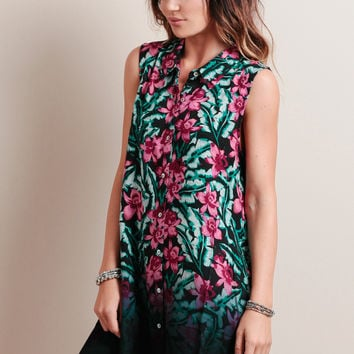 Sundown Jungle Dress By MINKPINK