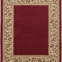 Surya MID4740 Midtown Red Rectangle Area Rug