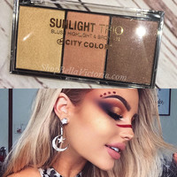 Sunlight Highlight Trio Palette