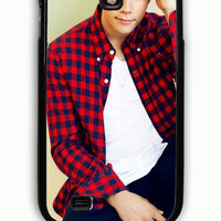 Samsung Galaxy S4 Case - Rubber (TPU) Cover with Dylan Obrien Rubber Case Design