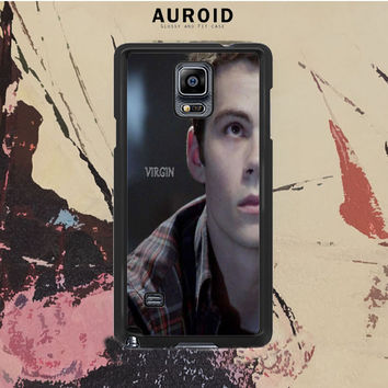 Virgin Teen Wolf Samsung Galaxy Note 4 Case Auroid