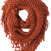 Show and Trellis Scarf in Orange | Mod Retro Vintage Scarves | ModCloth.com