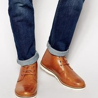 ASOS | ASOS Chukka Boots in Leather at ASOS