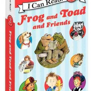 Frog and Toad and Friends (I Can Read, Level 2): Frog and Toad and Friends Set (I Can Read, Level 2)