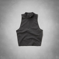 Natalie Mock Neck Tank