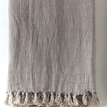 Montauk Natural Blanket Collection