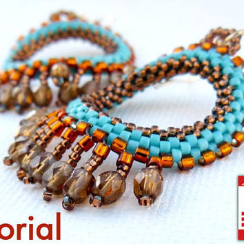 DIY Pattern Beading tutorial Native American Style by CallOfEarth