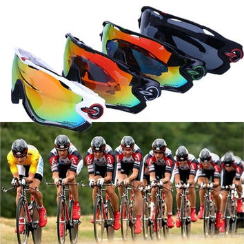 Outdoor Cycling Bike Sports UV400 Lens Protection Wind Protection Sun Glasses Fashion [8270419969]