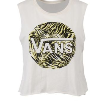 Vans Palm Garden Cropped Ladies T-Shirt - Buy Online at Grindstore.com
