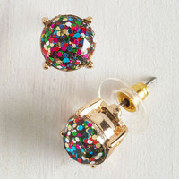 Glitter and Glee Earrings by ModCloth