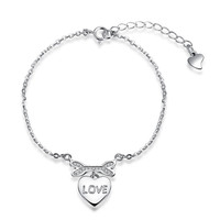 Gift Awesome Great Deal Shiny Stylish New Arrival Silver Hot Sale 925 Accessory Fashion Jewelry Bracelet [9036682052]
