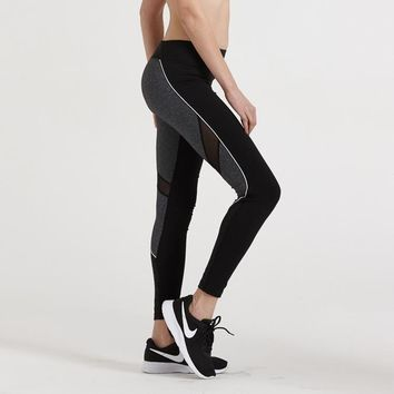 Yoga Pants Stretch Jogging Gym Permeable Sportswear [10544462151]