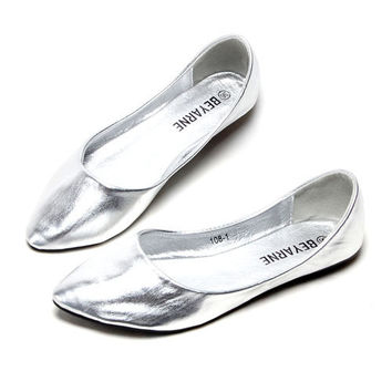 Loafers Women Flat  Shoes