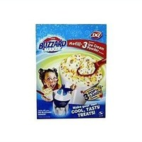 The DQ Original Blizzard Maker Refill 3 Dessert Mix Packets