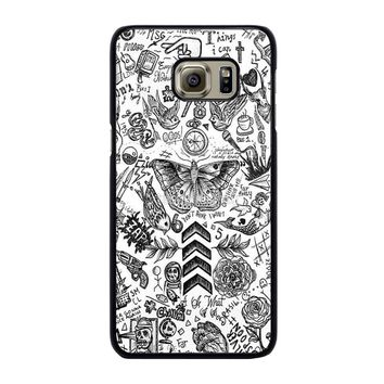 ONE DIRECTION TATTOOS Samsung Galaxy S6 Edge Plus Case