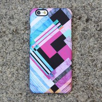 Geometric Chevron Colors iPhone XR Case Pink iPhone XS Max plus Case iPhone 8 SE  Case Samsung Galaxy S5/S4/Note 3 Case 07