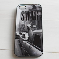 Llama Swag in the City Phone Case