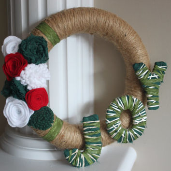 Christmas Wreath, Rustic Christmas Wreath, Christmas Decoration, Holiday Wreath, Front Entrance Decor, Christmas Decor, Country Christmas