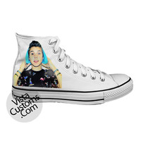 Matthew Espinosa magcon  White shoes New Hot Shoes