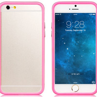 4.7'' Plastic Bumper for iPhone 6 (Pink)