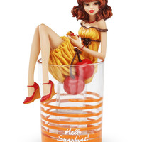Hello Sunshine Girl in Cocktail Glass by Hiccup
