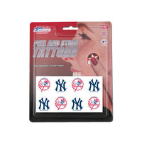 Rico MLB Tattoo Pack - New York Yankees