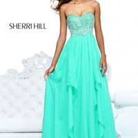 SHERRI HILL 3874  FORMAL PROM WEDDING BRIDAL DRESS