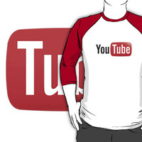 #ylb youtube logo black t-shirt tshirt by paulineperry398