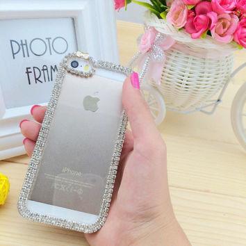Clear iphone case bling iphone case iphone 4/4s case iphone 5 case iphone 5s case 5c case cover fashion iphone cases