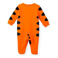 Disney Baby Boys 2 Piece Orange Tigger Footie and Matching Hat Set