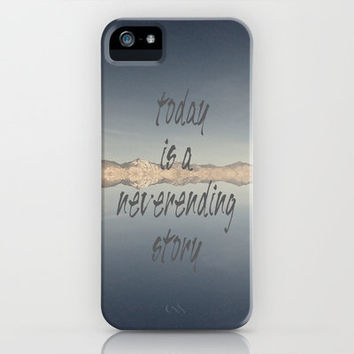 Today Is A Neverending Story iPhone & iPod Case by Shawn Terry King