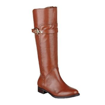 Marc Fisher Taite Women's Leather Tall Shaft Riding Boots