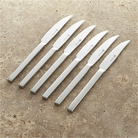 Wüsthof ® 6-Piece Stainless Steel Steak Knife Set