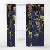 Parrotphenalia Window Curtains by anipani