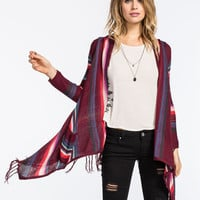 Billabong Loosen Up Womens Cardigan Merlot  In Sizes