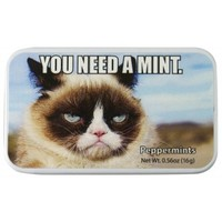 "Grumpy Cat ""You Need A Mint"" Mints"