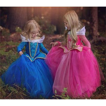 Girl Princess Dresses Children Costumes Fancy Ball Gown Party DressUp Girls Clothes Easter