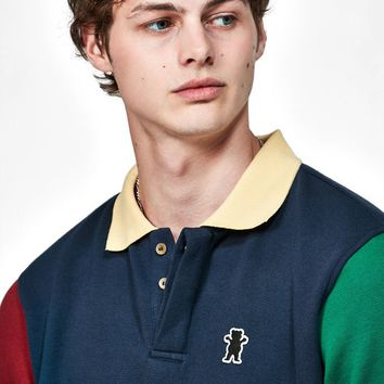 Grizzly Richmond Colorblock Polo Shirt at PacSun.com