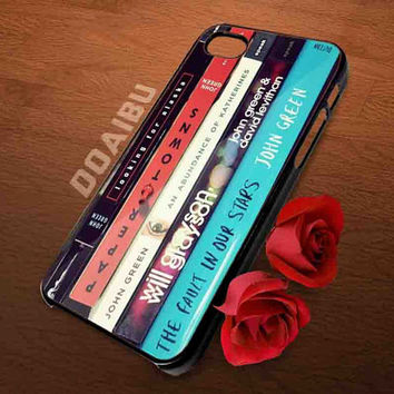 John Green All Books iphone 4/4s, 5/5s 5c , samsung s2 i9100,s3,s4