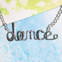 Dance Necklace by Exaltation on Etsy