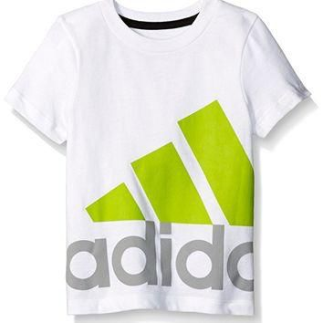 adidas Boys' Short Sleeve Graphic Tee Shirt