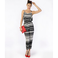 Ruffle Me Up Jumpsuit - Clothing