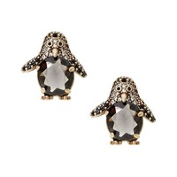 Pave Penguin Stud Earring|banana-republic
