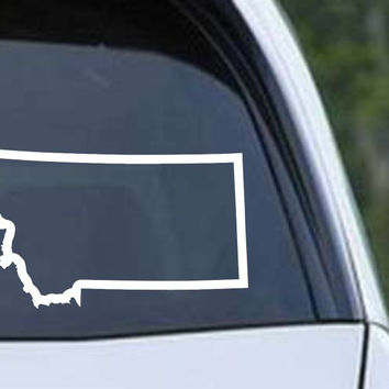 Montana State Outline MT - USA America Die Cut Vinyl Decal Sticker